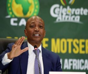 CAF President Dr. Patrice Motsepe in Nigeria to discuss football development